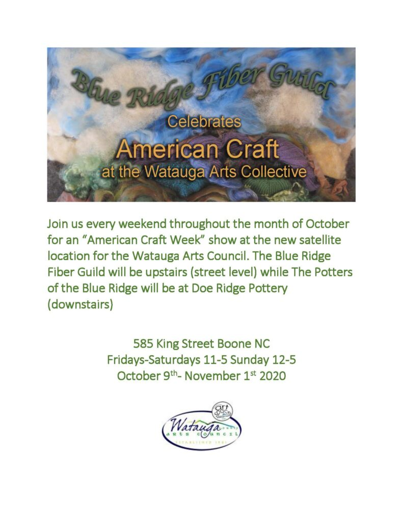 American Craft Week Flyer